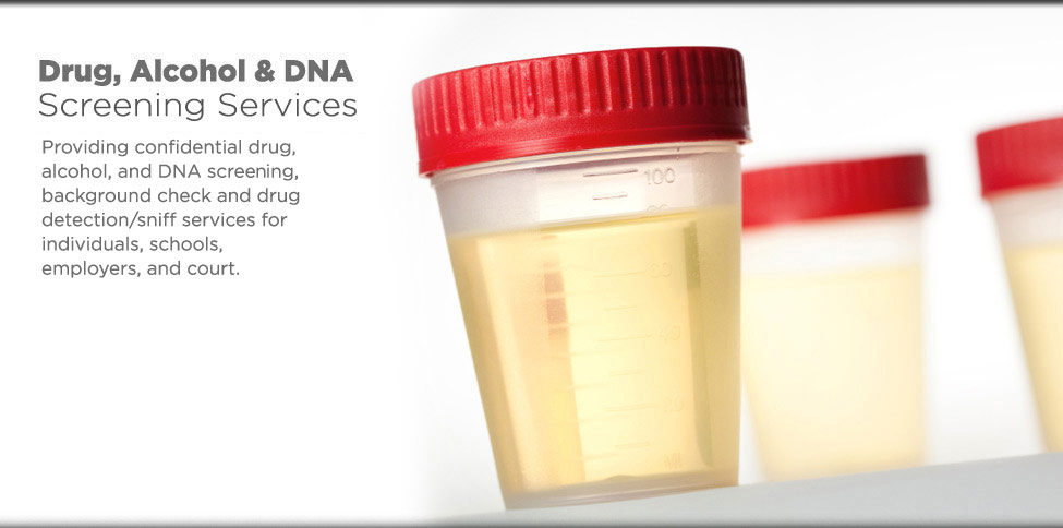 Drug, Alcohol and DNA Screening Services
